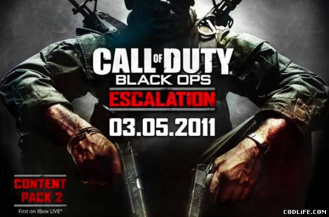 Трейлер Escalation DLC для Call of Duty: Black Ops